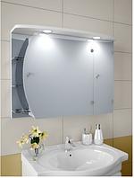 Шкаф зеркальный Garnitur.plus в ванную с подсветкой 11N