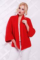 Пиджак Поло вязанный (10 цветов), женская вязанная кофта, теплая вязанная кофта, дропшиппинг