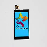 Сенсорный экран для мобильного телефона Doogee DG2014, черный