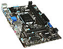 "Материнская плата MSI H81M-E34 DDR3 s.1150 ""Over-Stock"", фото 2"