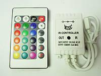 Контроллер RGB 6A ИК 24кн музыкальный