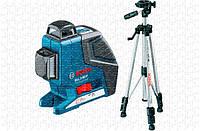 Линейный лазерный нивелир Bosch GLL 2-80 P + ШТАТИВ