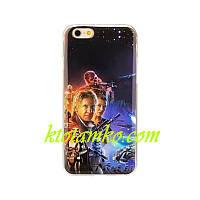 Чехол Foto Silicon iPhone 5/5S Star Wars