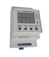 Программируемые реле времени (таймер) недельного или суточного цикла ADECS ADC-0420-15