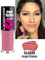 Матовая помада LA Colors Pout Lipgloss Matte - Angel Kisses