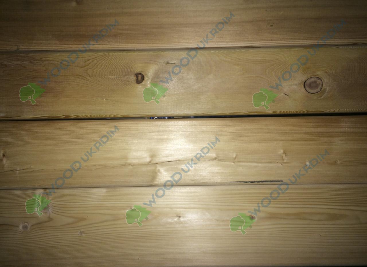 Палубный пол из Лиственницы, террасный пол от поставщика 27х120 Сорт АВ
