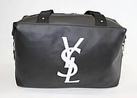 Спортивная женская сумка черного цвета
