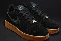 Nike air Force подростковые замшевые кроссовки