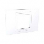 Рамка 2-модульная UNICA ALLEGRO (белый)