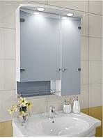 Шкаф зеркальный Garnitur.plus в ванную с подсветкой 15S