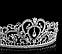 Діадема, корона срібляста, фото 2