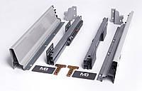 Направляющие полного выдвижения GTV MODERN BOX PB-D-KPL450А 450 мм Серый (30635)