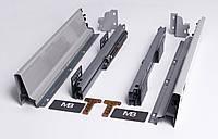 Направляющие полного выдвижения GTV MODERN BOX PB-D-KPL400A 400 мм Серый (31998)