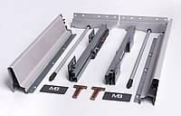 Направляющие полного выдвижения GTV MODERN BOX PB-D-KPL400C 400 мм Серый (31997)