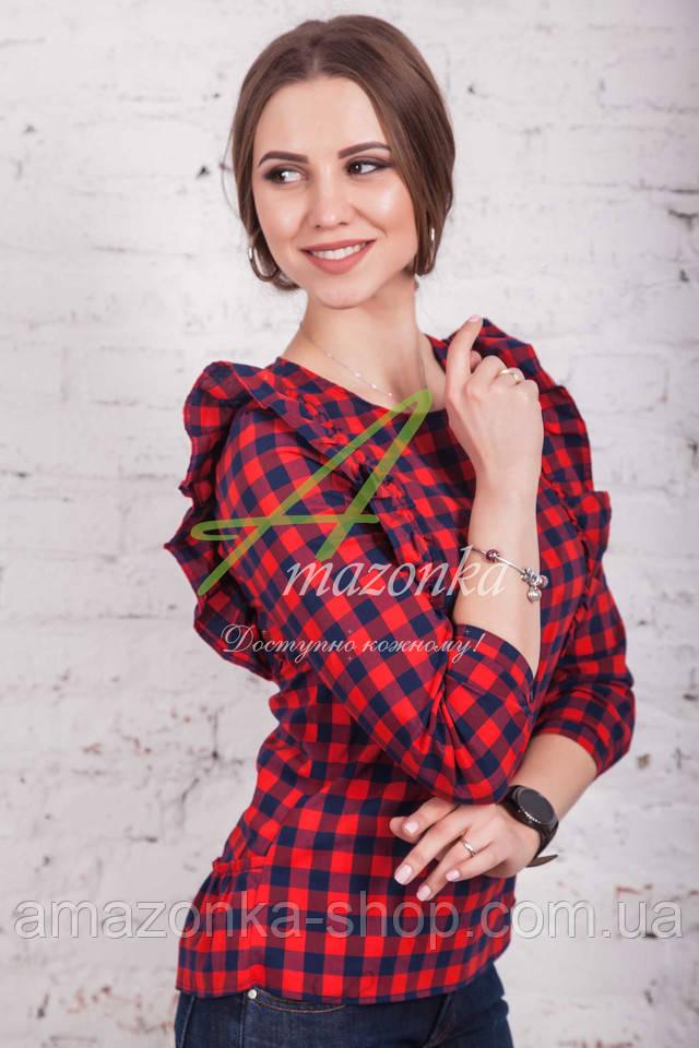 Такая блузка подходит как для похода на роботу, так и для прогулки с  друзьями. Купив такой фасон блузки, вы точно не прогадаете. Тем более  носить её можно ... 6fb22a3e08b