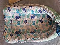 Гнездышко кокон для новорожденного 2369