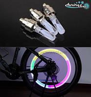 Светящиеся светодиодные колпачки на колеса