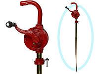 Роторний бочковий насос для перекачування моторного масла, солярки, гасу Groz 44052 GNB-25 / 3R / SPL
