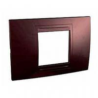 Рамка 2-модульная UNICA ALLEGRO (терракотовый)