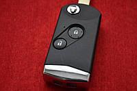 Выкидной ключ HONDA для переделки на 2 кнопки вид New ХРОМ