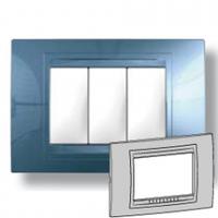 Рамка 2-модульная UNICA ALLEGRO (голубой лед)