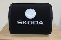Органайзер в багажник автомобиля Skoda (текстильный) сумка органайзер