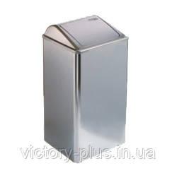Корзина металлическая с крышкой 65л