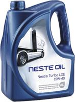 Моторное масло Neste Turbo LXE 15W40 (API CI-4/SL) 4 л
