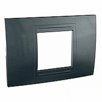 Рамка 2-модульная UNICA ALLEGRO (серый графит)