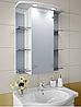 Шкаф зеркальный Garnitur.plus в ванную с LED подсветкой 21N