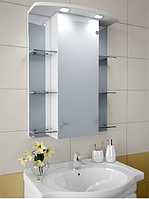 Шкаф зеркальный Garnitur.plus в ванную с подсветкой 21N