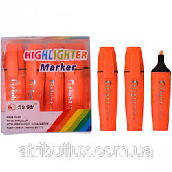 Текстовыделитель Highlighter DH-700 оранжевый