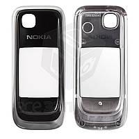 Стекло корпуса для мобильного телефона Nokia 6131, внешнее, черное