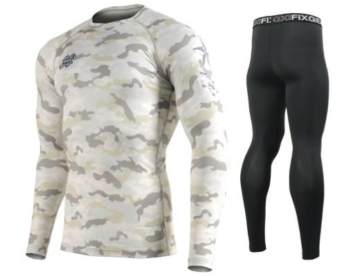 Комплект Рашгард Fixgear і компресійні штани CFL-M1Y+FPL-BB