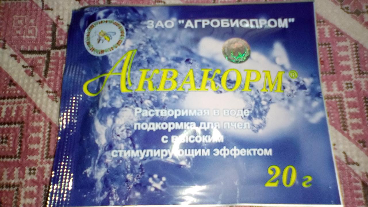 Аквакорм (витамины в поилку с водой)