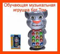 Обучающая музыкальная игрушка Кот Том