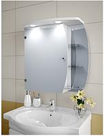 Шкаф зеркальный Garnitur.plus в ванную с подсветкой 24NS-Z