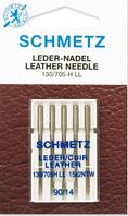 Иглы Schmetz №90 Leder (для кожи)