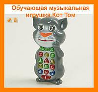 Обучающая музыкальная игрушка Кот Том !Акция