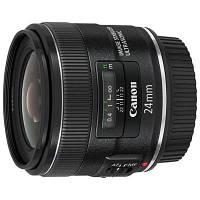 Объектив Canon EF 24mm f/2.8 IS USM (5345B005) Canon EF, ультразвуковий двигун, 58 мм, официальная гарантия