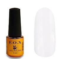 Гель-лак FOX Pigment 001 белый