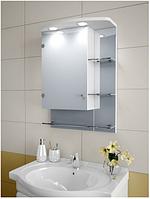 Шкаф зеркальный Garnitur.plus в ванную с подсветкой 28NS-Z