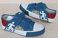Кеды слипоны для мальчика подростка детская спортивная обувь тм Том.м р.35