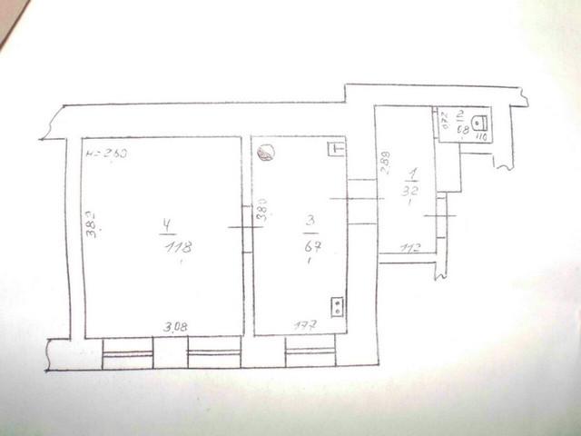 Продам 1 комнатную квартиру на улице Болгарская, ориентир улица Запорожская, Малиновский район города Одесса