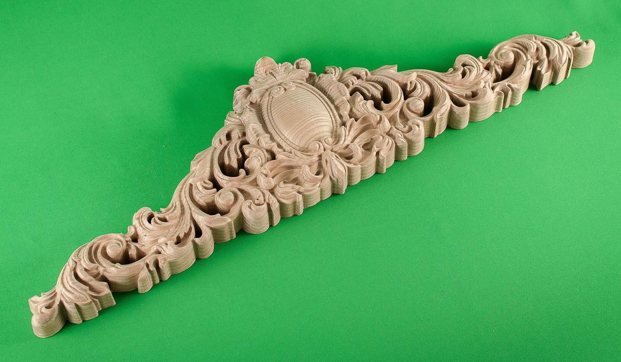 Код КОР4. Деревянный резной декор для мебели. Короны