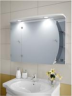 Шкаф зеркальный Garnitur.plus в ванную с подсветкой 29NZ