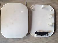 Лючок бензобака Lanos, Sens в сборе оригинал белый пластик GM 96303245