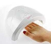 Лампа для маникюра LED+UV Lamp SUN One 48W гибридная для гель лаков Белая
