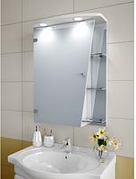 Шкаф зеркальный Garnitur.plus в ванную с подсветкой 31SK-Z