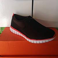 Женские кроссовки №1017 (черные)